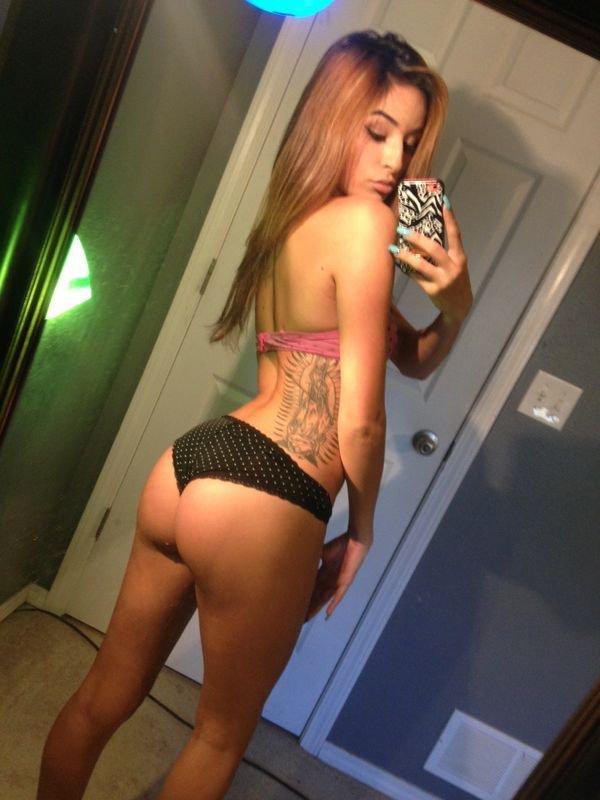 Hot latina in bikini