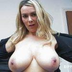 Big Tits Woman Ripping Her Shirt (video)