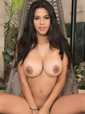 Latina Big Boobs: Kendra Roll Strips Naked
