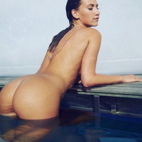 Model Stefanie Balk Perfect Naked Ass (3 photos)