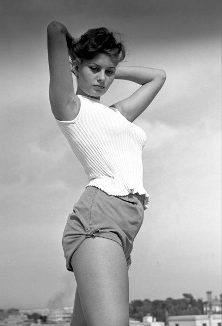 Sofia Loren sexy